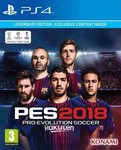 Pro Evolution Soccer 2018 (Legendary Edition) PS4
