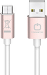 PowerStar Regular USB 2.0 Cable USB-C male - USB-A male Rose Gold 1m