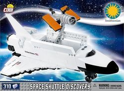 Cobi Smithsonian Space Shuttle Discovery 310τμχ