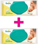 Pampers Baby Sensitive Wipes 2*50τμχ