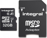 Integral App Performance SDHC 32GB U1 A1 with Adapter