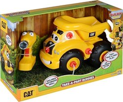 Toy State Junior Take A Part Buddies Dump Truck Cat