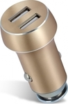 Forever Car charger 2xUSB 3.1 A gold