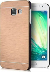 Motomo Aluminium Back Cover Gold (Galaxy A3 2017)