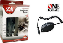 One For All Universal Car Power Socket