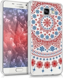KW Arctic Snowflake Back Cover Σιλικόνης Διαφανές Μπλε (Galaxy A5 2016)