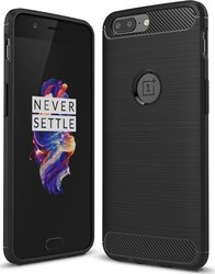 Shieldtail Carbon Rugged Μαύρο (OnePlus 5)