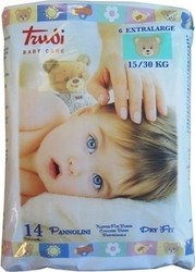 Trudi Baby Care No 6 (15-30kg) 14τμχ