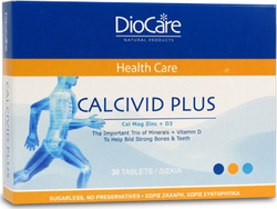 DioCare Calcivid Plus 30 ταμπλέτες