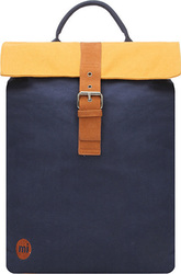 Mi Pac Day Pack Canvas Navy/Yellow
