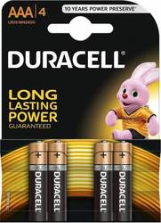 Duracell Long Lasting Power AAA (4τμχ)