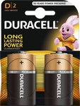 Duracell Long Lasting Power D (2τμχ)