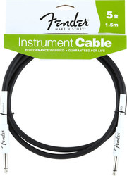 Fender Cable 6.3mm male - 6.3mm male 1.5m (0990820004)