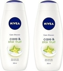 Nivea Care & Star Fruit 2x500ml 1000ml