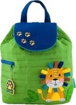 Stephen Joseph Quilted Backpacks: Lion SJ100177