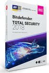 BitDefender Total Security 2018 Multi Device (5 Licences , 1 Year) Key