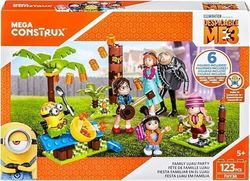 Mattel Mega Construx Despicable Me Family Luau Party 123τμχ