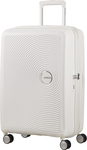 American Tourister Soundbox Expandable Spinner Pure White 88473-2343 Medium