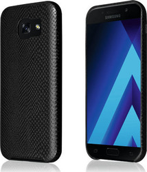 Okkes TPU Snake Back Cover Μαύρο (Galaxy A3 2017)