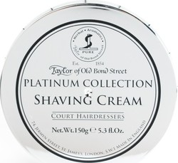 Taylor of Old Bond Street Platinum Collection Shaving Cream 150gr