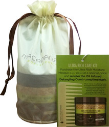 Macadamia Ultra Rich Care Kit Professional Ultra Rich Moisture Mask 236ml & Professional Healing Oil Infused Comp