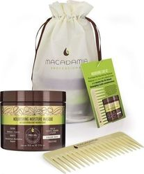 Macadamia Nourishing Care Kit Professional Nourishing Moisture Mask 236ml & Professional Healing Oil Infused Comp