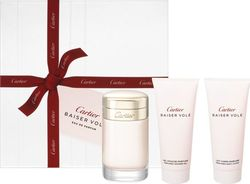 Cartier Baiser Vole Eau de Parfum 100ml & Shower Gel 100ml & Body Lotion 100ml