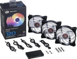 CoolerMaster MasterFan Pro 120 Air Balance RGB 3in1 (Pack) 120mm
