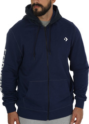 Converse Mixed Media Full-zip Hoodie 10004683-A04