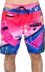 NEFF Μαγιό YOKO HOT TUB SHORT PINK