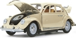 Jamara VW Beatle 1:18 RC Die Cast Cream White 40MHz 405111