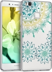 KW Vintage Flower Ring Turquoise Yellow Transparent (Huawei P9 Lite)