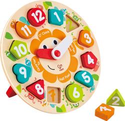 3fe2e0deef Προσθήκη στη σύγκριση Προσθήκη στα αγαπημένα menu Hape Happy Puzzles Ξύλινο  Ρολόι Chunky