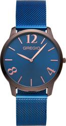 Gregio Simply Rose Milanese Blue Strap GR112051