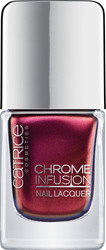 Catrice Cosmetics Chrome Infusion Nail Lacquer 04 Unexpected Red