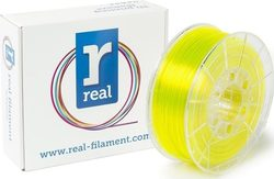 Real Filament PETG 2.85mm Translucent Yellow 1kg