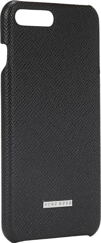 a47ab980df57 Προσθήκη στα αγαπημένα menu Hugo Boss Signature Back Cover Δερμάτινο Μαύρο  (iPhone 8 7 Plus)