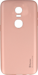 Remax Reck Back Cover Ροζ (Lenovo K6 Note)