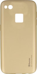 Remax Reck Back Cover Μπεζ (Huawei P10 Lite)