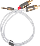 Supra Cable 3.5mm male - RCA male 0.5m (MP)