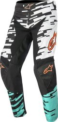 Alpinestars Racer Braap Pants White/Turquoise/Black 2016