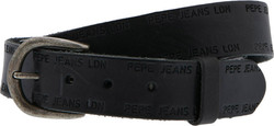 PEPE JEANS M E3 DELPHI BELT - PM0205500000-999 BLACK