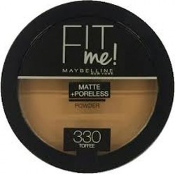 Maybelline Fit Me Matte & Poreless Pressed Powder 330 Toffee