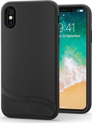 Snugg Cascade Back Cover Μαύρο (iPhone X/Xs)