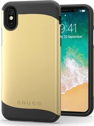 Snugg Infinity Back Cover Gold (iPhone X/Xs)