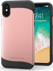 Snugg Infinity Back Cover Rose Gold (iPhone X/Xs)