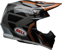 Bell Moto-9 MIPS Gloss Copper/Black/Charcoal District