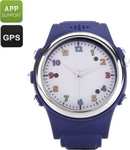 OEM Generic Kids Watch Phone With Gps Tracker M873-Blue