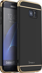 iPAKY Luxury Armor 3 in 1 Case Black (Samsung Galaxy S7)