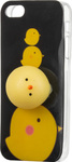 OEM Apple iPhone SE / 5S / 5 Θήκη Σιλικόνης 4D Squishy - Chicken